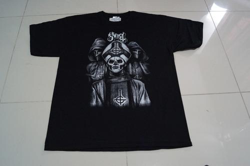 camiseta ghost rock activity importada talla l