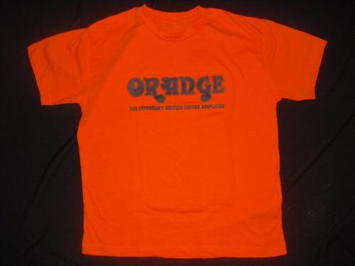 camiseta gibson epiphone, marshall, mesa-boogie orange