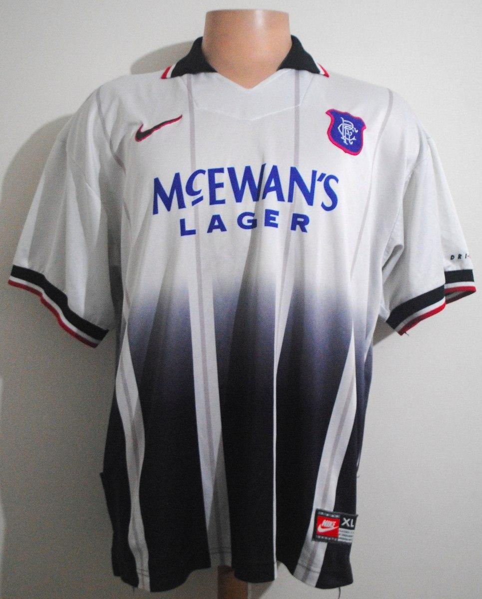 Camiseta Glasgow Rangers 1997 98 6274418154aed