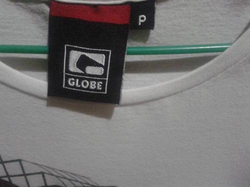 camiseta globe  masculina