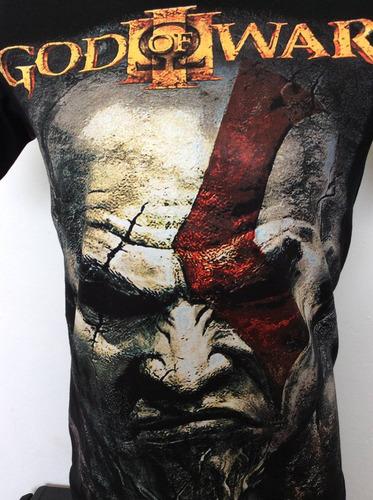 camiseta god of war kratos juegos rock metal anime comics