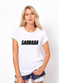 69eaa5276d0429 Camiseta Sarrada - Calçados, Roupas e Bolsas Branco com o Melhores ...