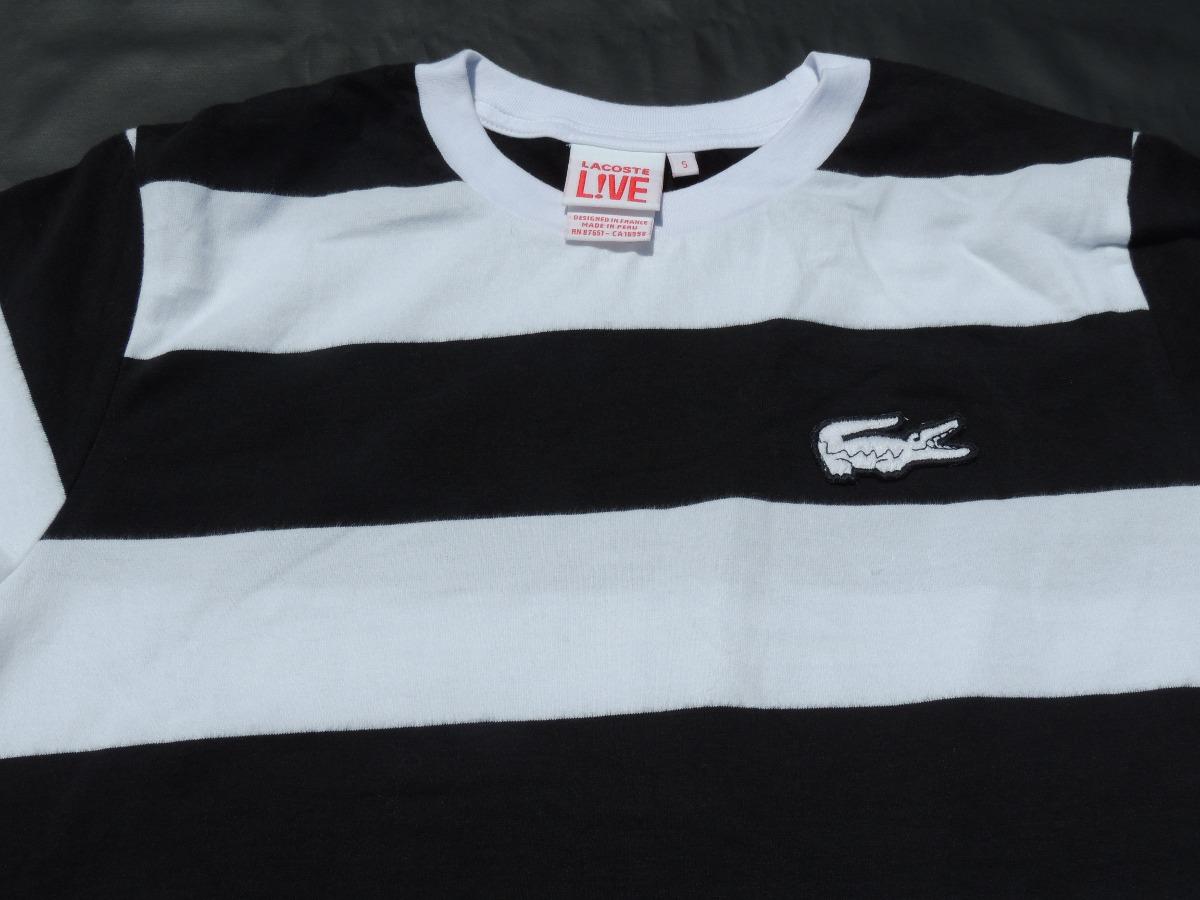 1c8edf04f4aa9 camiseta gola careca lacoste live várias cores e tamanhos. Carregando zoom.