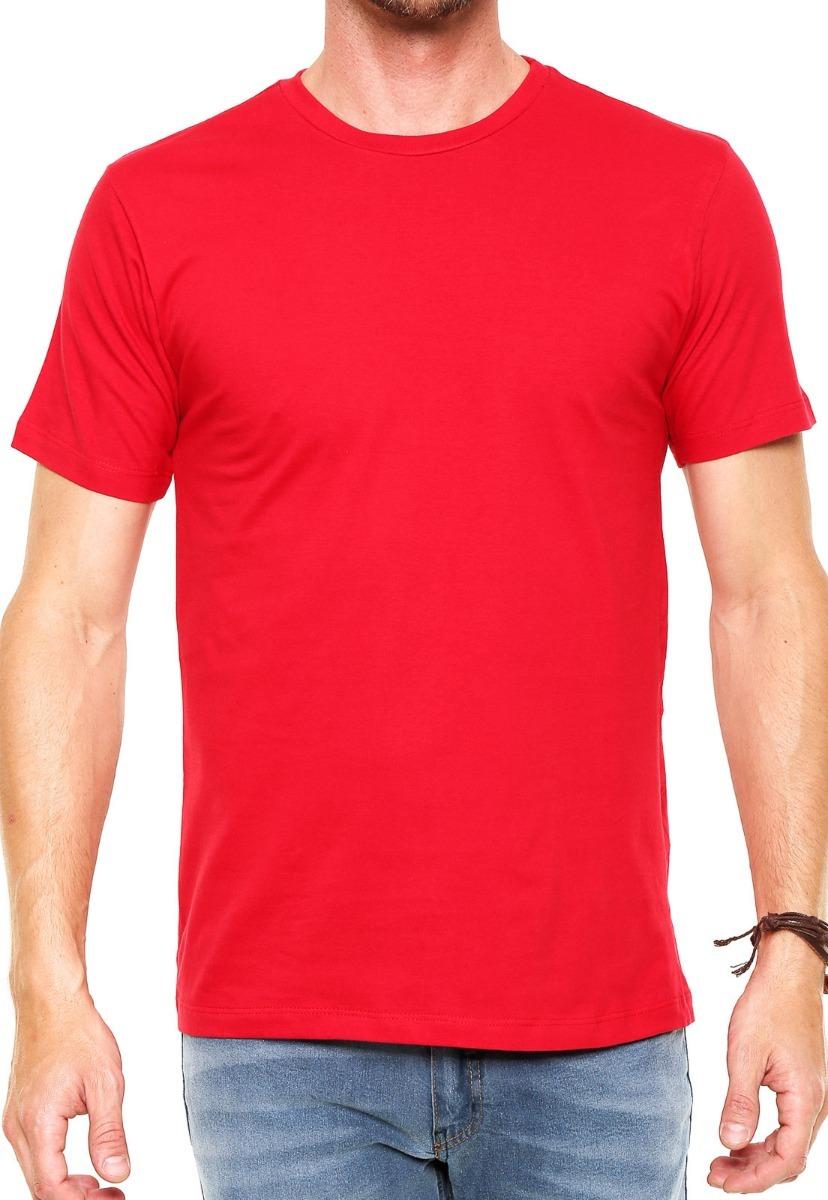 camiseta gola o masculina básica lisa algodão camisa blusa. Carregando zoom. cc0fcbdb3e0