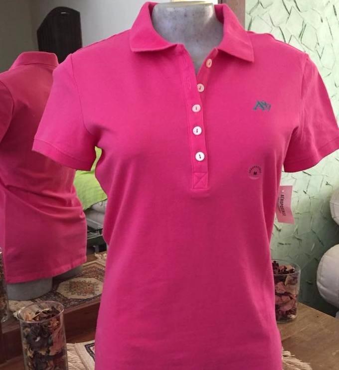 aee777dd20e5b Camiseta Gola Polo Feminina Aéropostale - Original - R  79