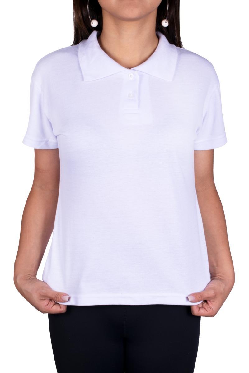 camiseta gola polo feminina uniforme liso promoção. Carregando zoom. 332c5b0d6f82a
