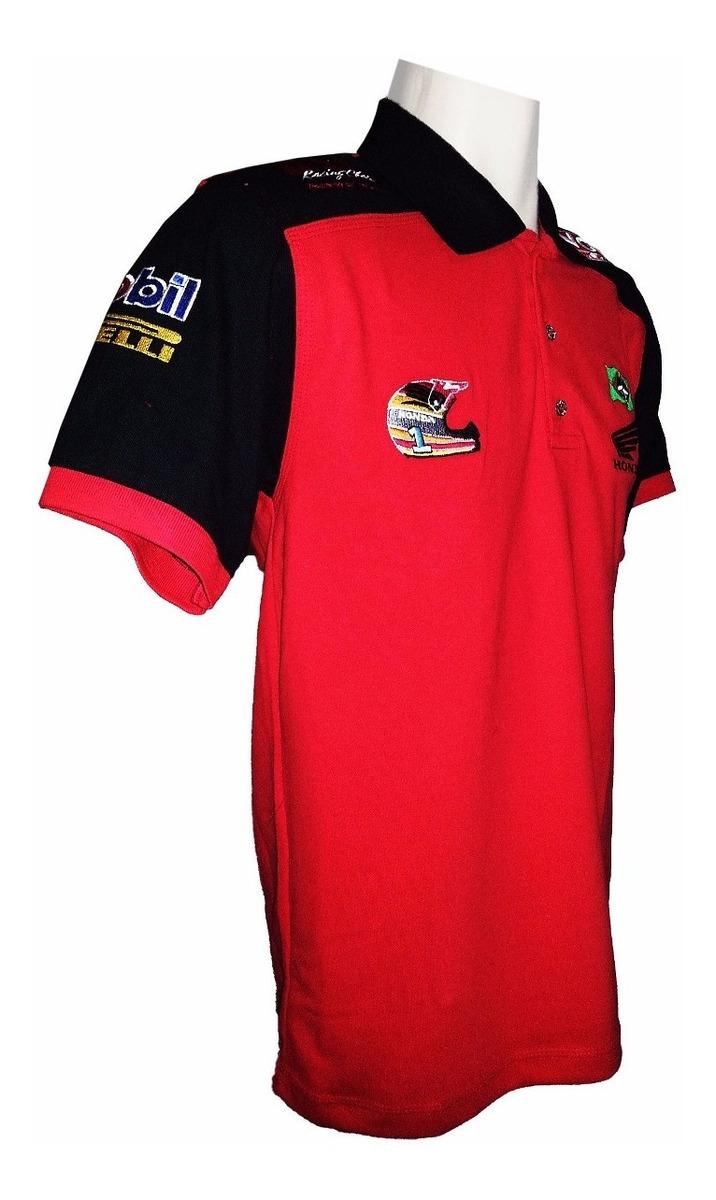 f9c4979de6 Camiseta Gola Polo Honda Moto Esportiva - R$ 100,00 em Mercado Livre