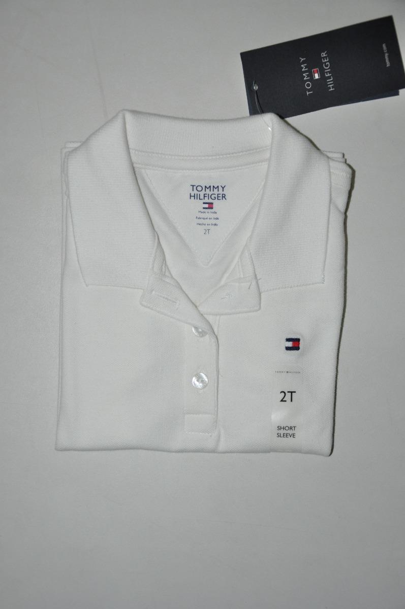 cba04abf09 camiseta gola polo infantil feminina - tommy hilfiger - 2t. Carregando zoom.