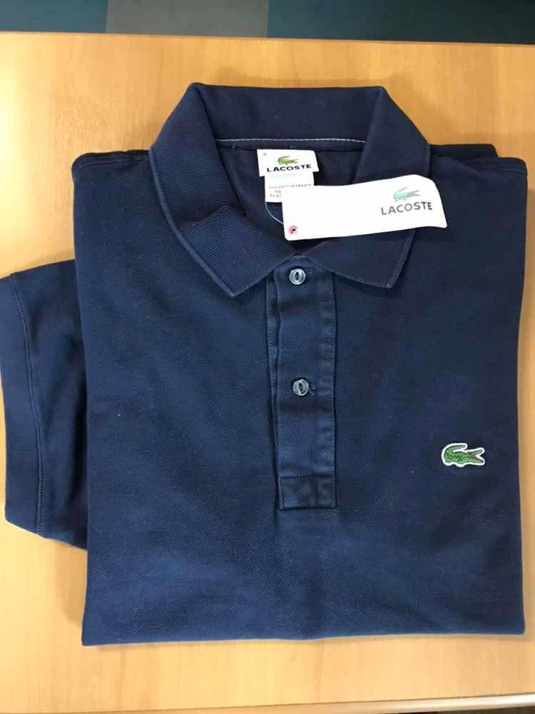 camiseta gola polo lacoste masculina tamanho g. Carregando zoom. 877569371933c