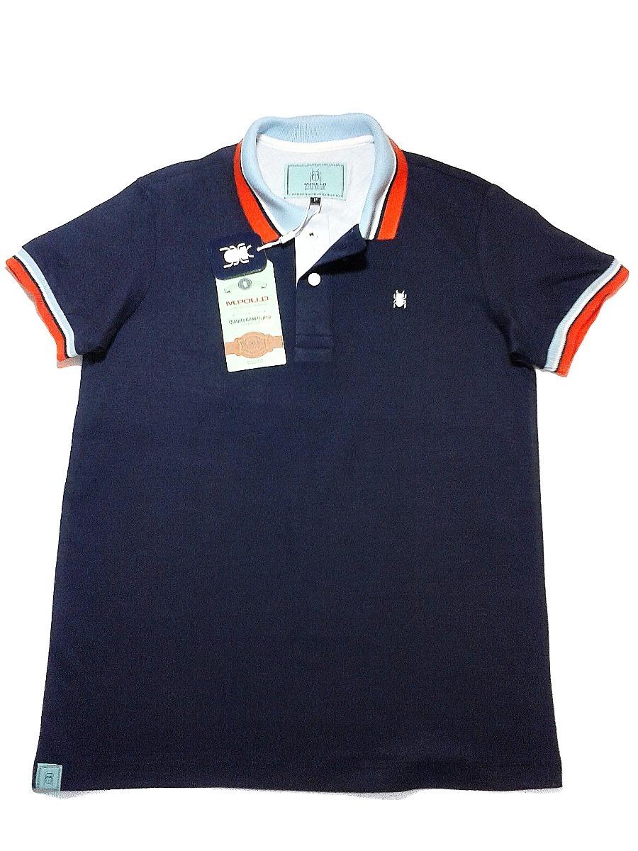 camiseta gola polo masculina de marca - mpollo. Carregando zoom. e56641b1a67ab