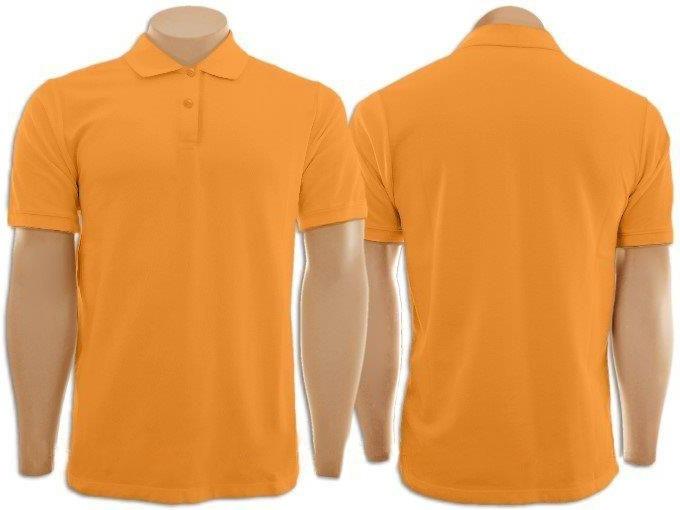 Camiseta - Gola Polo - Masculina - Laranja - Compre Agora!!! - R  38 ... 85a22bbd81bcf