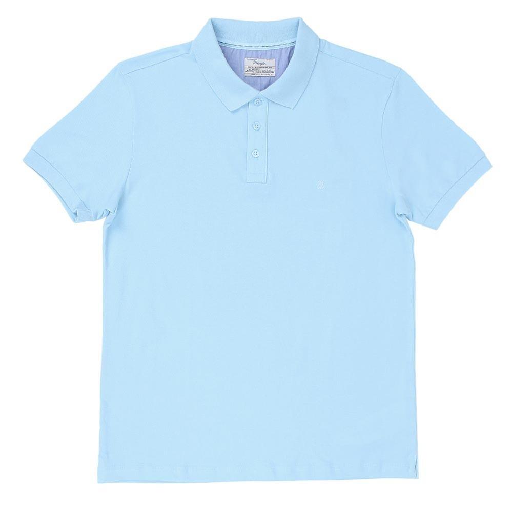 6b9212827190a camiseta gola polo masculina wrangler básica azul claro 2049. Carregando  zoom.