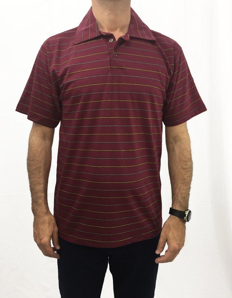 13aedee610 camiseta gola polo meia malha masculina listrada sem bolso. Carregando zoom.