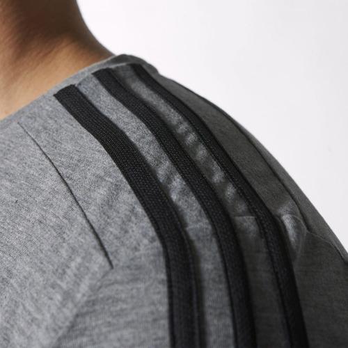 camiseta gola redonda adidas ess 3s esportiva s17653
