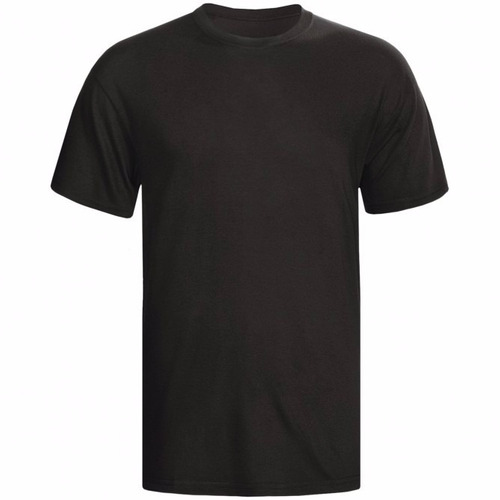 camiseta gola redonda preta m