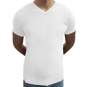 202dd3da3 Camiseta Gola V - Camisetas Curta com o Melhores Preços no Mercado Livre  Brasil