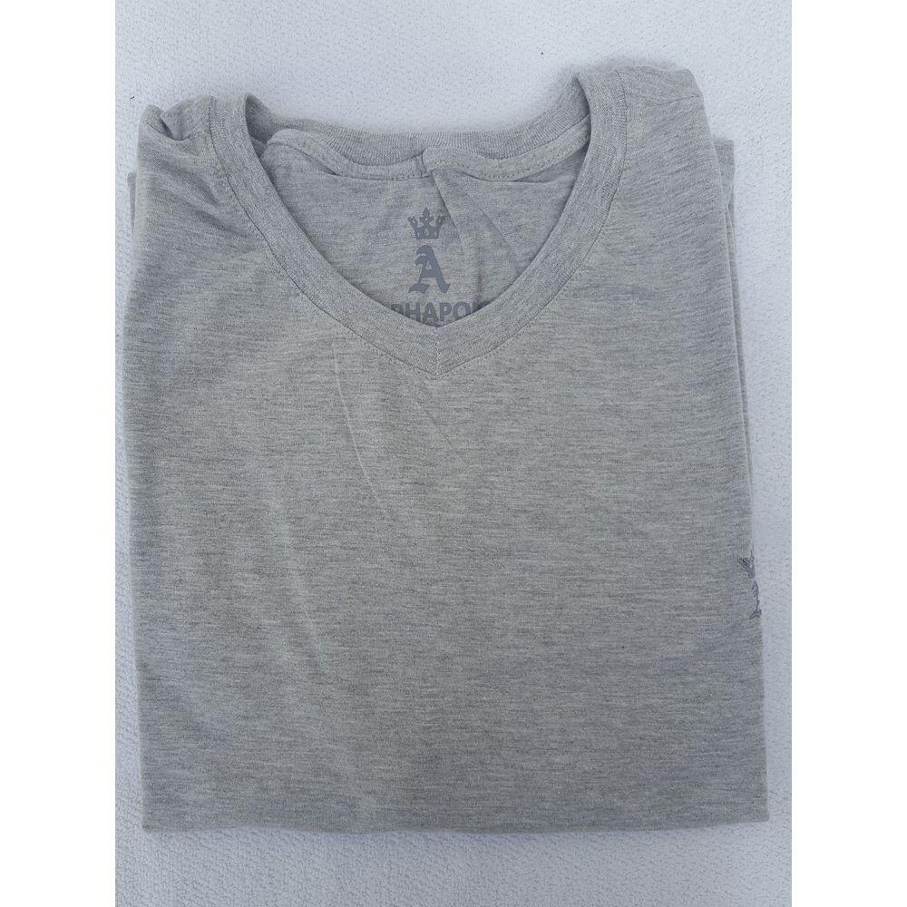 b71161467b camiseta gola v cinza g1. Carregando zoom.