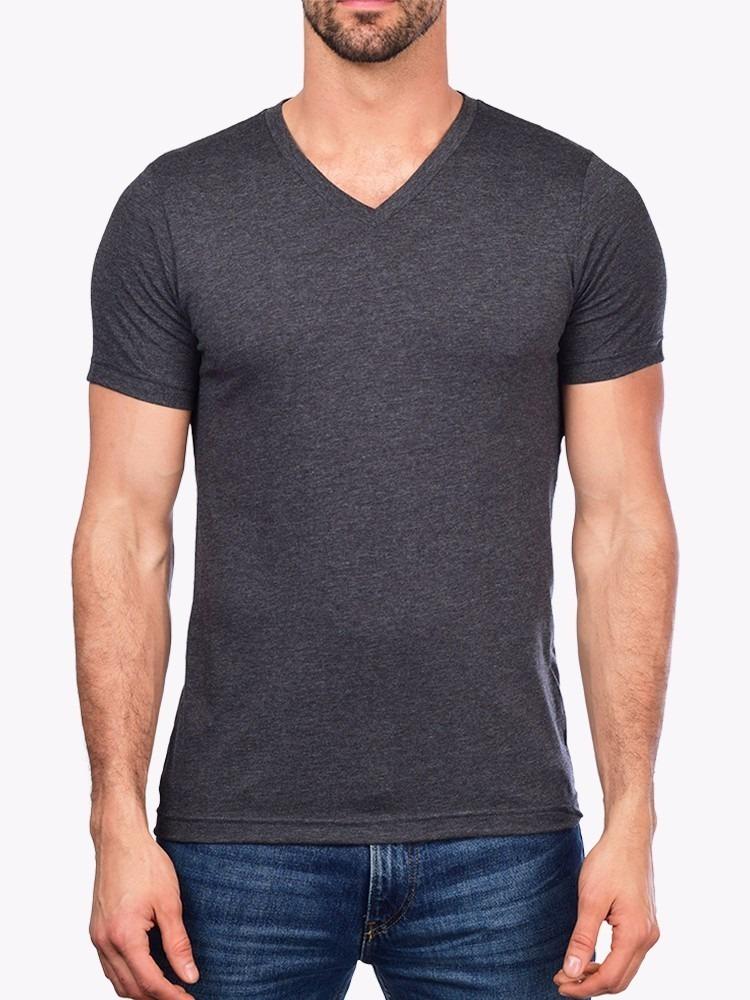 449188d16d camiseta gola v masculina básica lisa algodão camisa blusa. Carregando zoom.