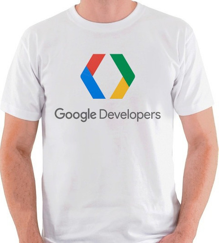 camiseta google developers logo internet marca camisa blusa