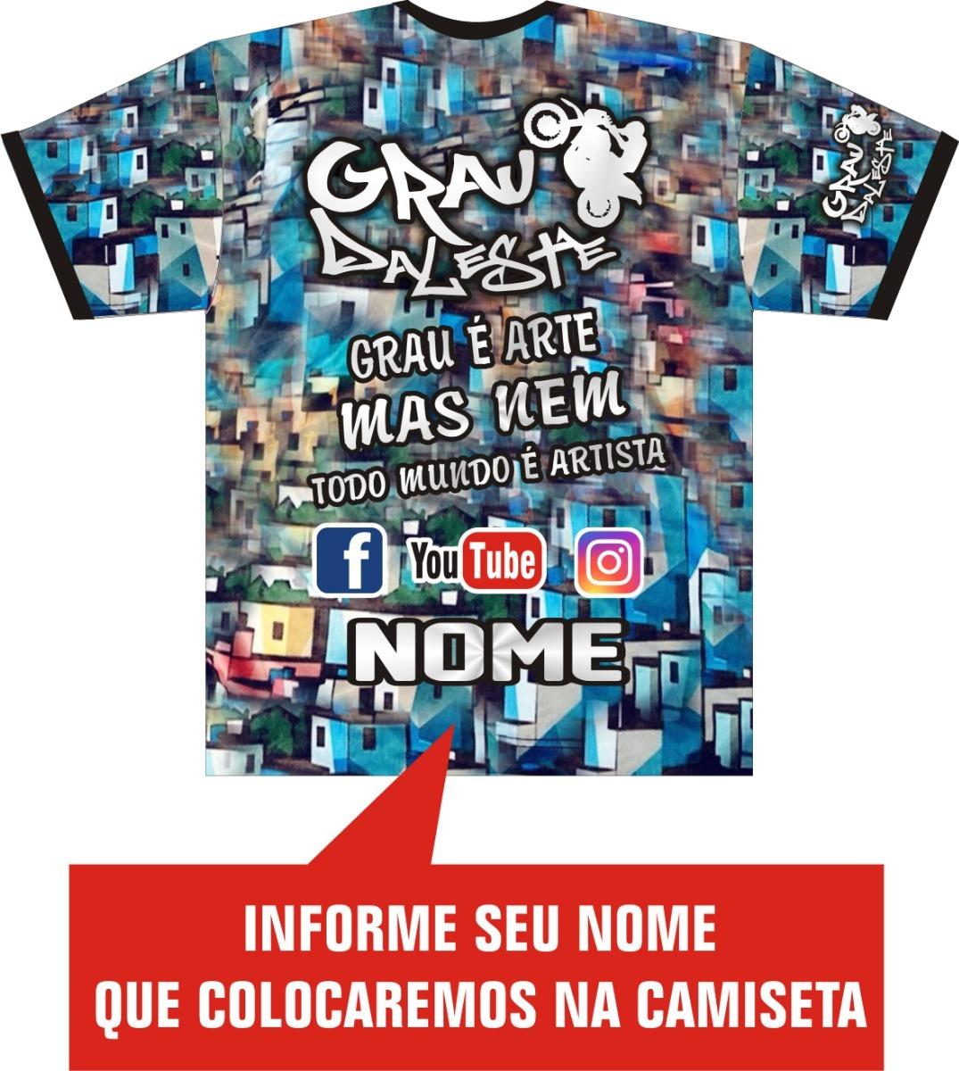 b8c45ea75 camiseta / grau / moto / empinar / motocross / motoqueiro. Carregando zoom.