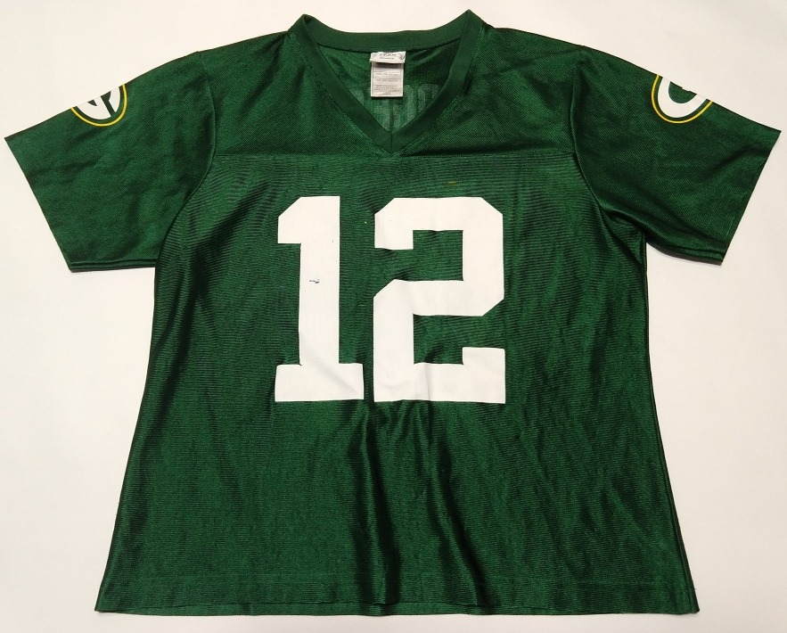 ea909d018 camiseta green bay packers aaron rodgers  12 talle l woman. Cargando zoom.