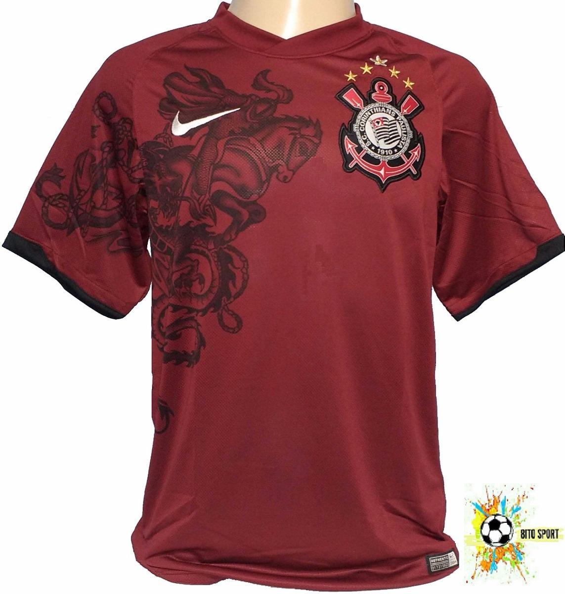 camiseta grená corinthians campeão 2011 nike promoção - 72. Carregando zoom. f56a2a115f1bd