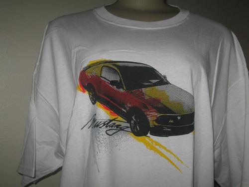 camiseta gringa ford licenciado mustang v6 v8 gt 500 shelby