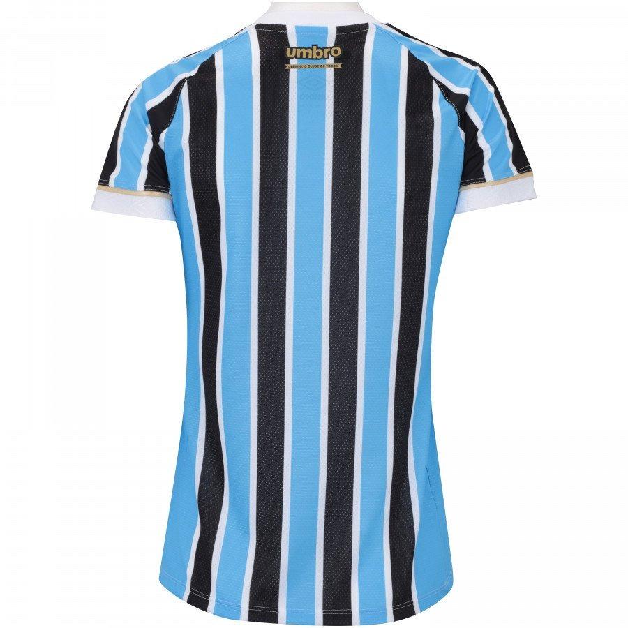 camiseta grêmio feminina umbro of.1 2018 tricolor. Carregando zoom. 285c1fbd9e5ac