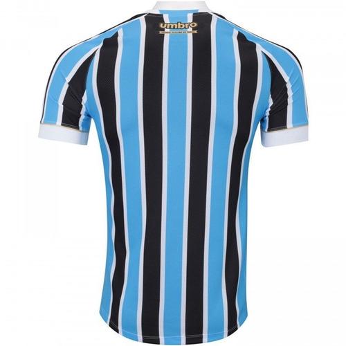 Camiseta Grêmio Of. 1 2018 Umbro Tricolor - R  249 6d6855d524edf