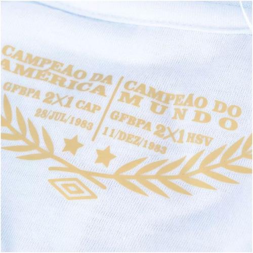 camiseta grêmio retro 1983 umbro mundial nº 7