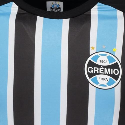 429a501d2 Camiseta Grêmio Stripes Preta - R  74