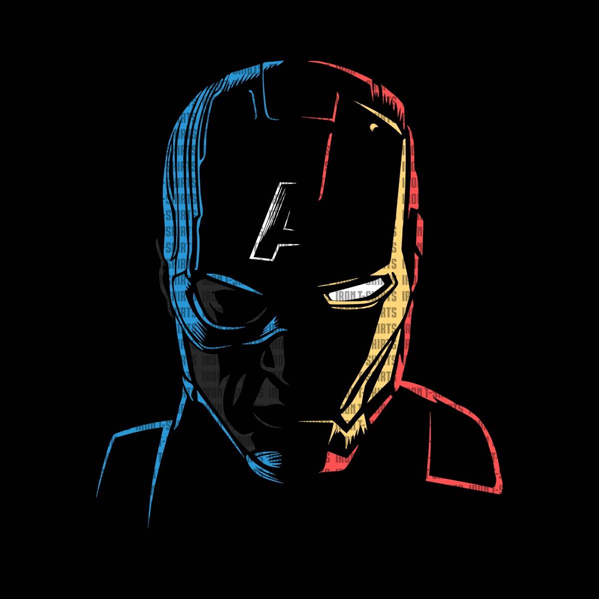 Camiseta Guerra Civil Steve Rogers Tony Stark Geek Nerd R 82 90
