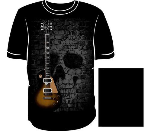 camiseta guitarra les paul pz03g