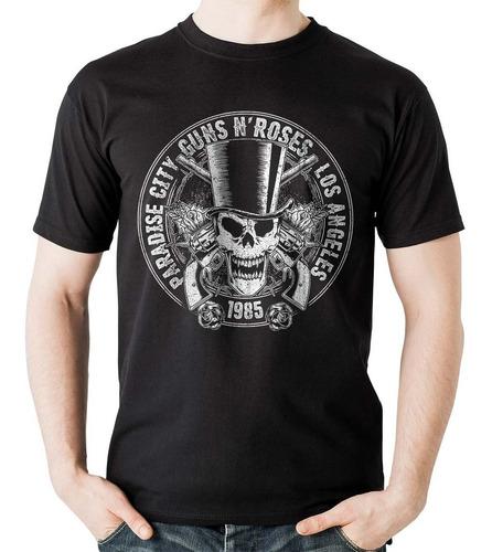 camiseta guns and roses calavera estereo picnic rock activi