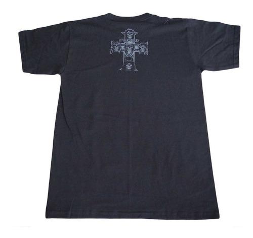 camiseta guns and roses rock activity importada talla m