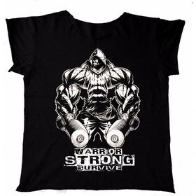 Camiseta Gym Entrenar  Hombre Estampada Físicoculturismo