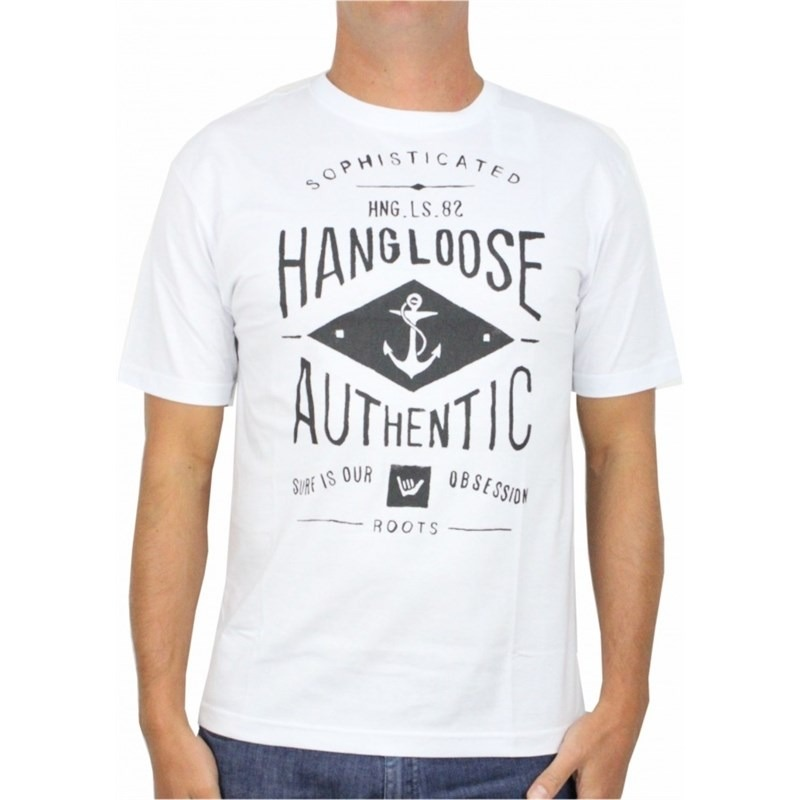 f169681318 camiseta hang loose classic hngls branca. Carregando zoom.