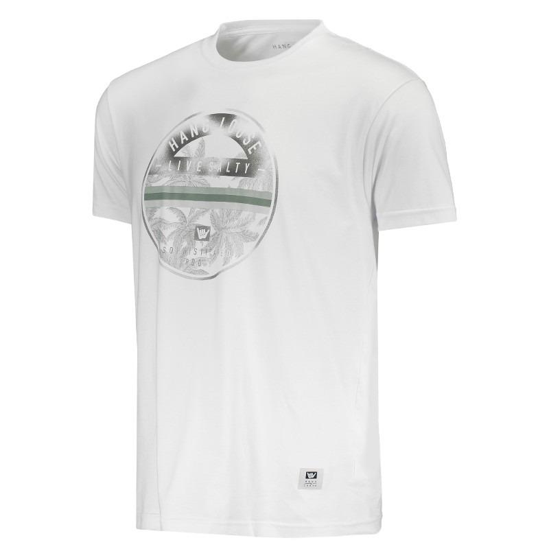 12c5230112 camiseta hang loose silk lapalm branca. Carregando zoom.
