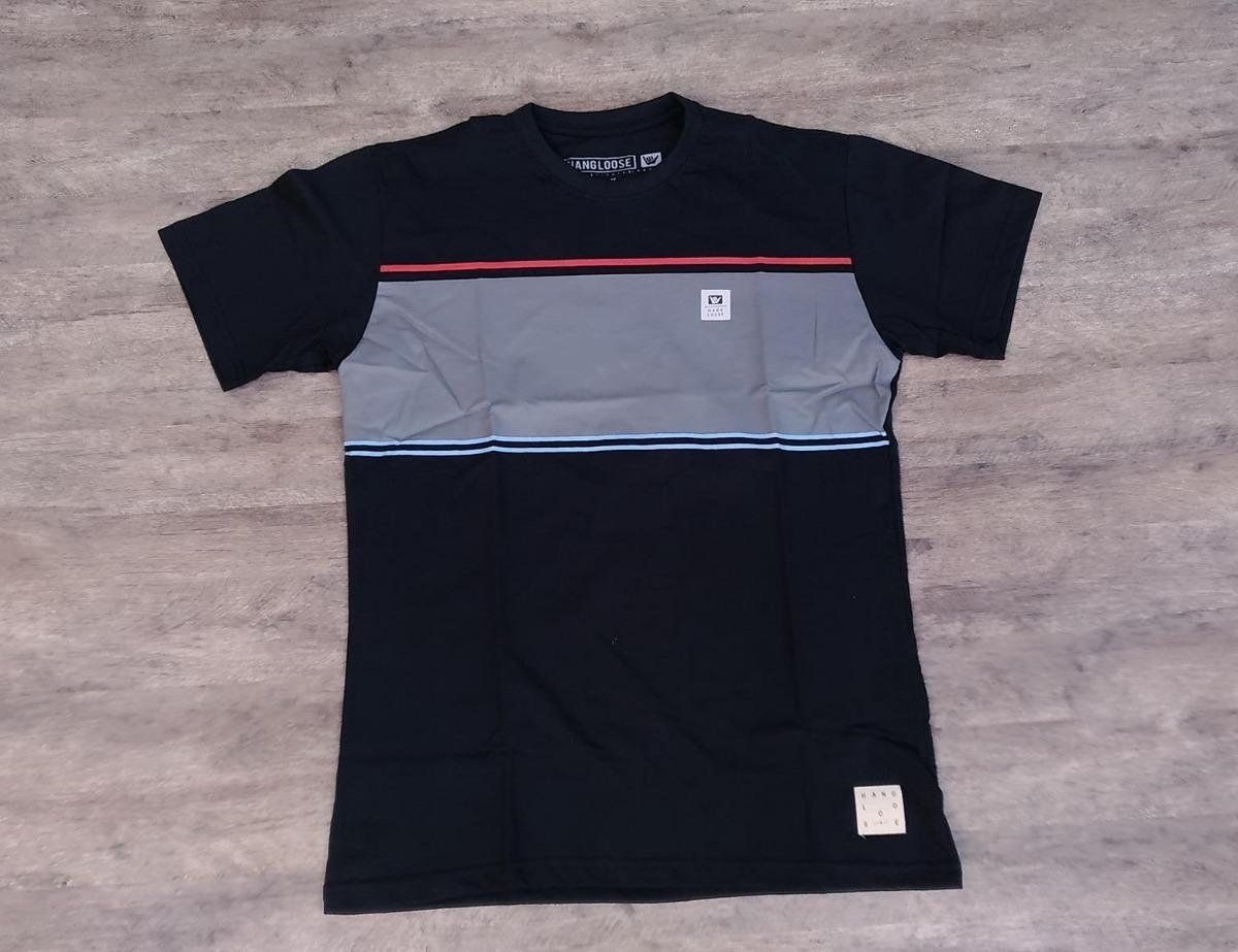 1235c3fbd3 camiseta hang loose stripe- especial masculina. Carregando zoom.