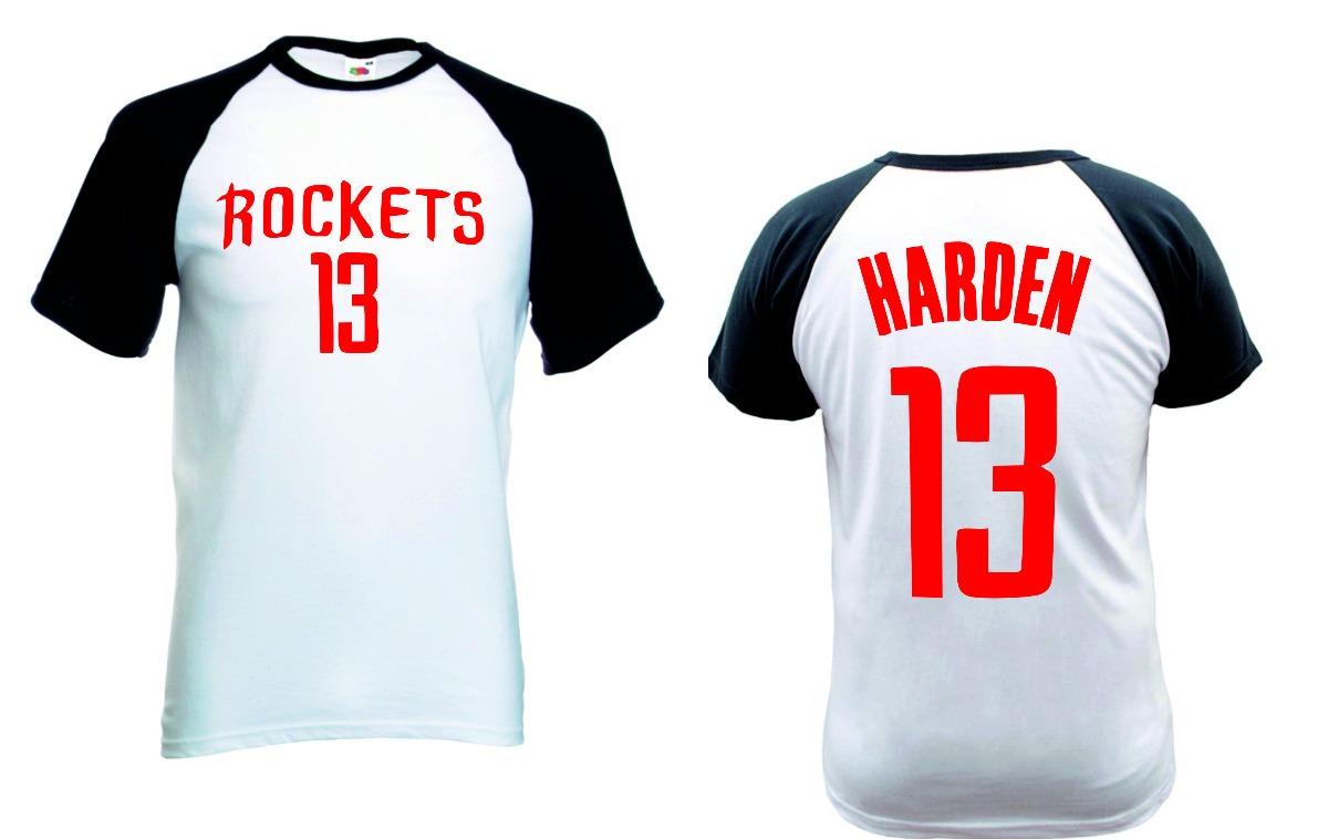 941c5dca9 camiseta harden houston rockets raglan curta camisa basquete. Carregando  zoom.