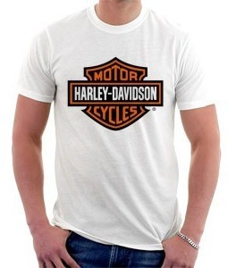 camiseta harley davidson - motos