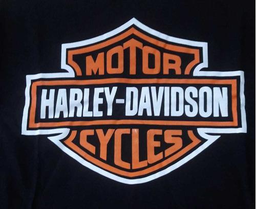 camiseta harley davidson  plus size logo  hcd   hcdhl01