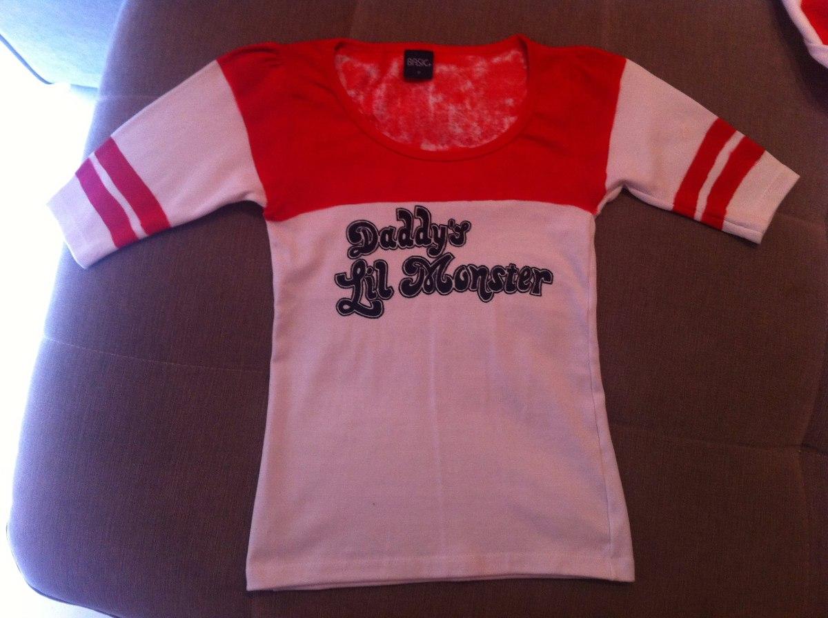 b4daf92172665 Camiseta Harley Quinn - Arlequina - Esquadrão Suicida - R$ 100,00 em ...