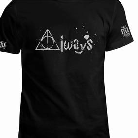 Hombre Camiseta Always Estampa Eco Harry Pareja Potter Mujer ybfYg76