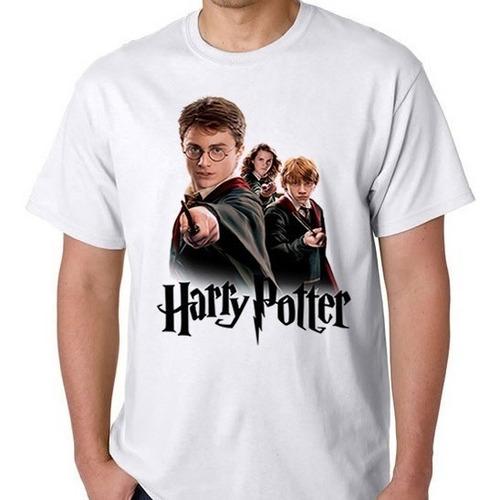 camiseta harry potter filme camisa blusa