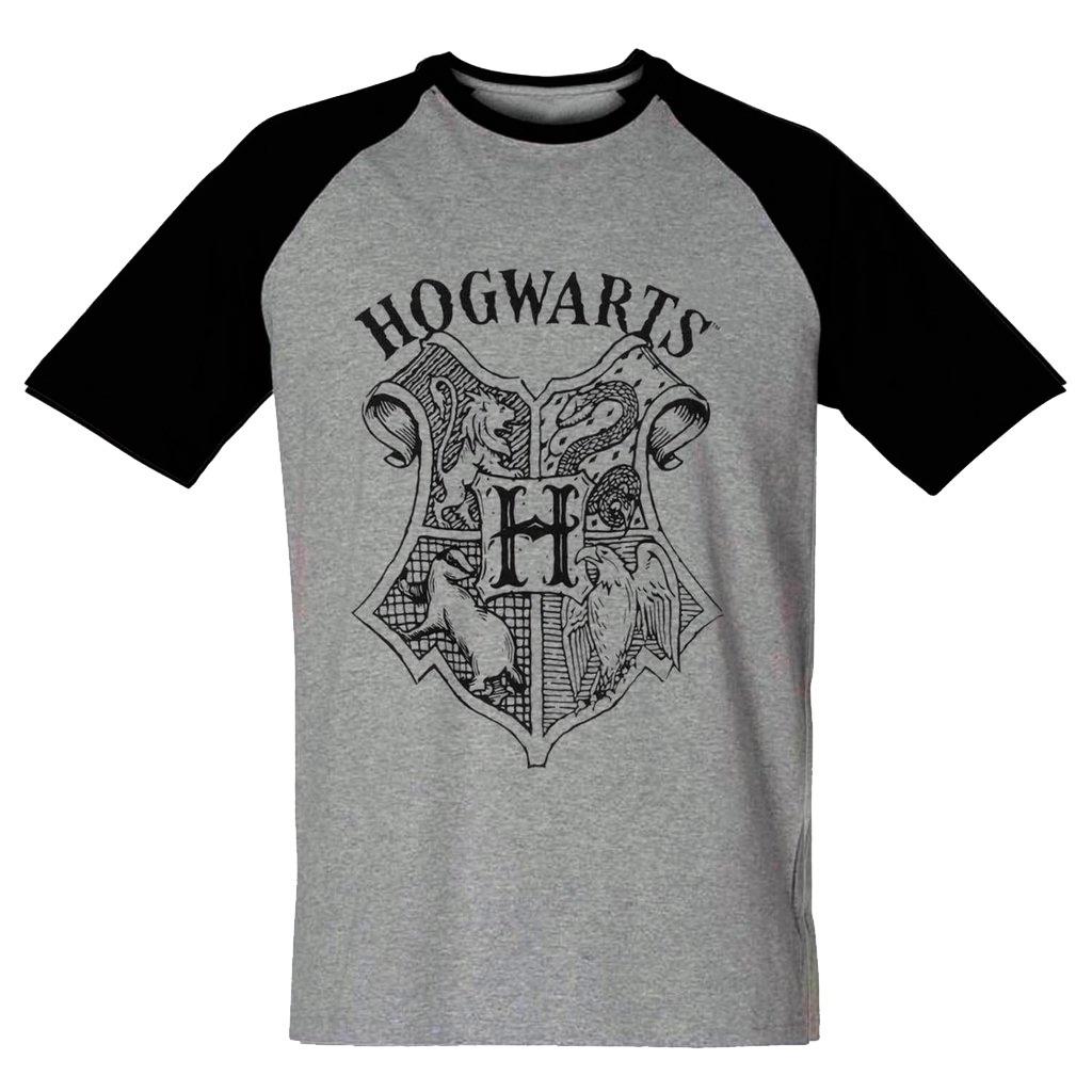 3a6628922 Camiseta Harry Potter Masculina Hogwarts Blusa Camisa - R  33