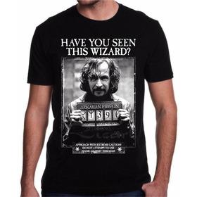 Camiseta Harry Potter Sirius Black Azkaban Filme Livro