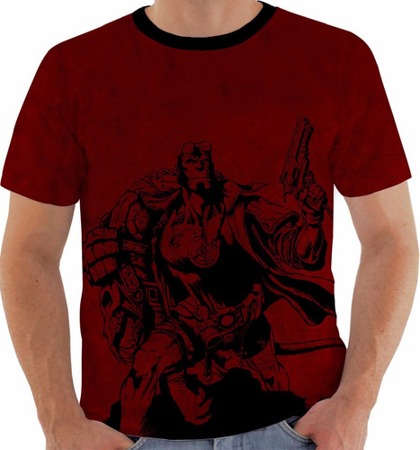 camiseta hellboy - quadrinhos - hq m250