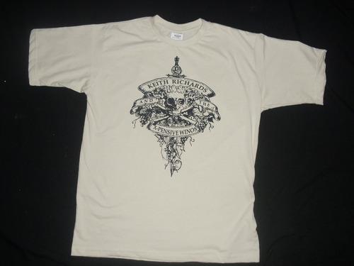 camiseta hendrix, rory gallagher, keith richards