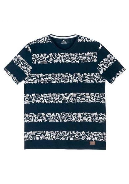 5bd4a86e4 Camiseta Hering Masculina Slim Em Malha De Algodão Com Estam - R  69 ...